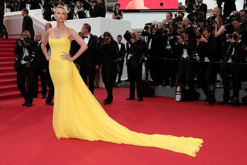 1Charlize Theron in Dior